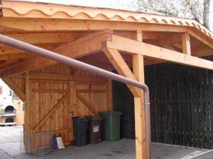Carport, Kreativ Holzbau Lohr, Salem