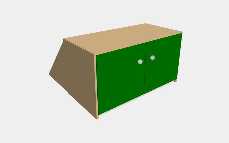 Krea-Regal, Kreativ Holzbau Lohr, Salem